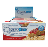Quest Protein Bars (Box of 12) - Peanut Butter & Jelly - Quest Nutrition | MAK Fitness