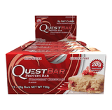 Quest Protein Bars (Box of 12) - Strawberry Cheesecake - Quest Nutrition | MAK Fitness