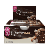 Quest Protein Bars (Box of 12) - Rocky Road - Quest Nutrition | MAK Fitness