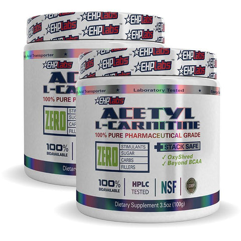 Twin Pack: Acetyl L-Carnitine by EHPlabs | MAK Fitness