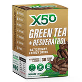 Green Tea + Resveratrol (30 serves) - X50 | Iced Coffee