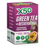 Green Tea + Resveratrol (30 serves) - X50 | Passionfruit