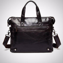 Crossbody bag genuine leather business Laptop briefcases
