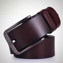High quality vintage style genuine leather belt