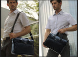 Large capacity business briefcase laptop bag
