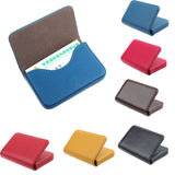 Fashion PU leather business card holder