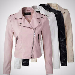 PU leather jacket winter/autumn outerwear