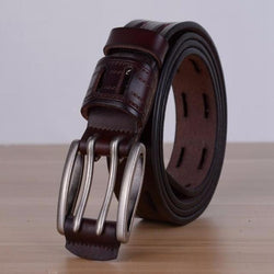100% high quality vintage genuine leather belt