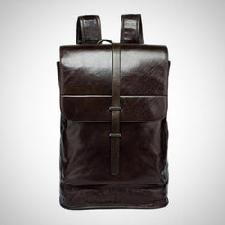 Genuine leather professional backpacks