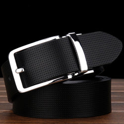 Casual genuine leather trouser belt