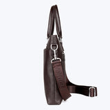 Laptop genuine leather handbag messenger bag