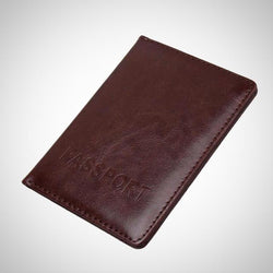 Multifunctional PU leather passport-card-ID holder