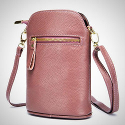 Genuine leather mobile phone fashion crossbody bag