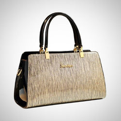 Elegant Patent Leather Handbag