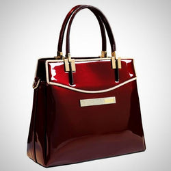 Patent Leather European Style Handbag