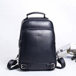 Business Genuine Leather Backpack