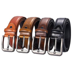 Vintage Genuine Cow Leather Belt