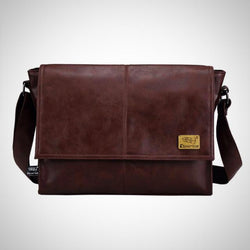 14 inch laptop bag PU leather bag travel leisure bag