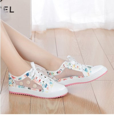 Sweet breathable mesh shoes for women or girls