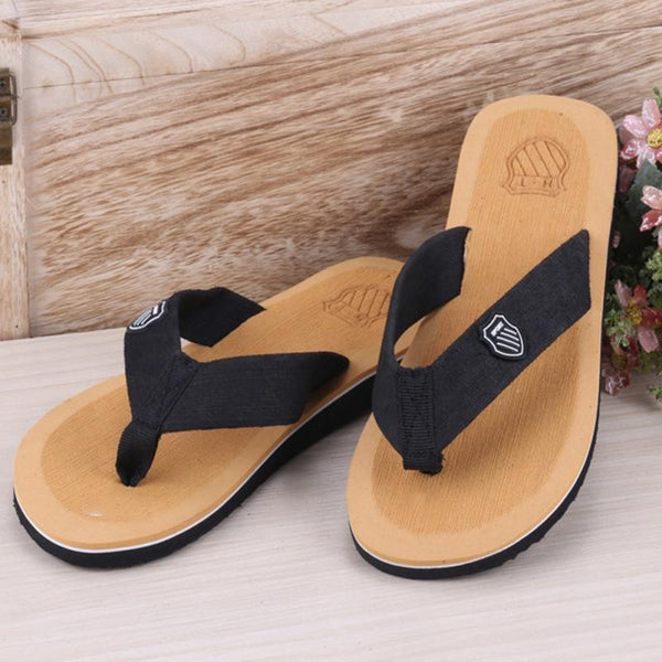 Colorful beach sandals and slippers for men and women