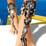 One Pcs Long Beach Summer Vacation Ankle Bracelet