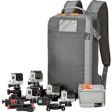 Lowepro Hardside 300 Photo Waterproof Hard Case with Removable Backpack (Black)