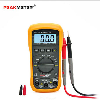 PeakMeter PM8233E Electrical Digital LCD Multimeter Voltmeter Ammeter AC DC OHM Volt Tester Multitester Current Resistance