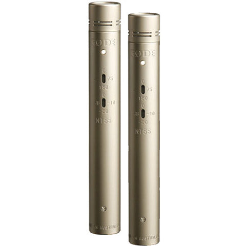 Rode NT55 Compact Condenser Microphone (Matched Pair) B