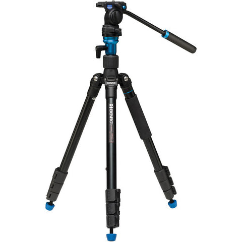 Benro A1883FS2C Aero 2 Video Travel Angel Tripod Kit with Video Fluid Head