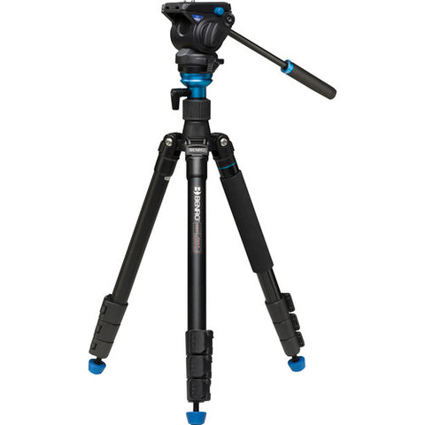 Benro A2883FS4 Aero 4 Video Travel Angel Tripod Kit with Video Fluid Head