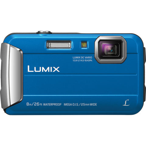 Panasonic Lumix DMC-TS30 Digital Waterproof Camera 4x Optical Zoom 25-100mm DC Vario Lens