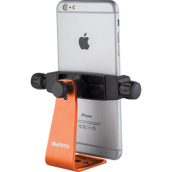 MeFOTO SideKick360 Plus Table Tripod Smartphone Holder Orange