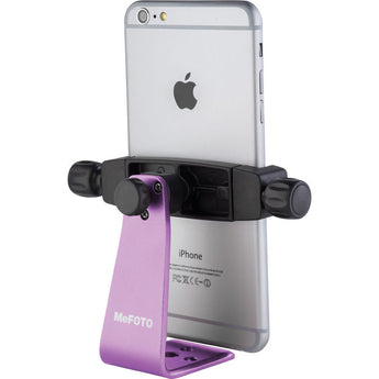 MeFOTO SideKick360 Plus Table Tripod Smartphone Holder Purple