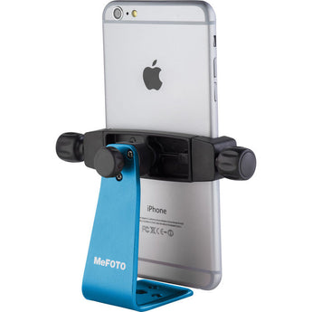 MeFOTO SideKick360 Plus Table Tripod Smartphone Holder Blue