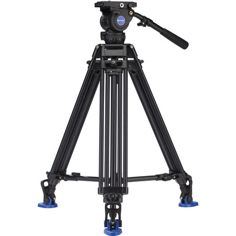 Benro BV8 Video Tripod Professional Aluminium with Twin Leg