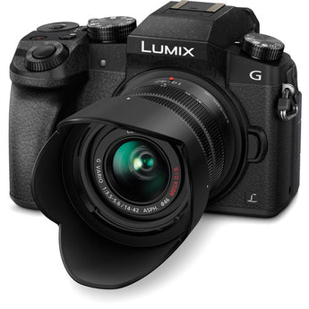 Panasonic Lumix DMC G7 Mirrorless Camera with 14 42mm Lens DSLR Crop