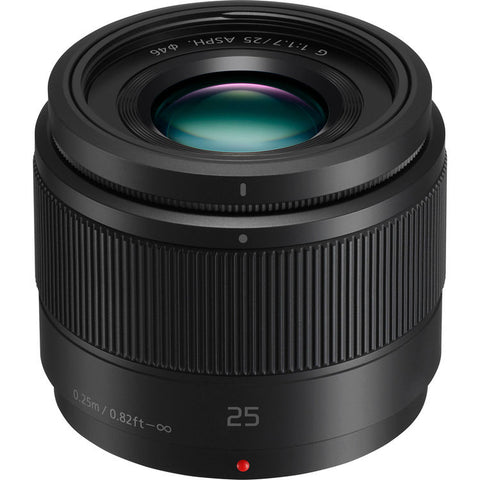 Panasonic Lumix G 25mm f/1.7 ASPH. Lens for Mirrorless Micro Four Thirds