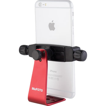 MeFOTO SideKick360 Plus Table Tripod Smartphone Holder Red
