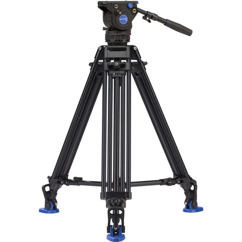 Benro BV6 Video Tripod Professional Aluminium Camera Tripods Kit
