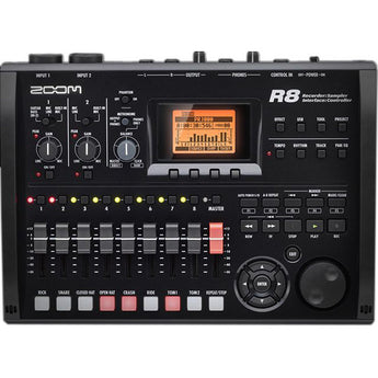 Zoom R8 8-Track Digital Recorder/Interface/Controller/Sampler