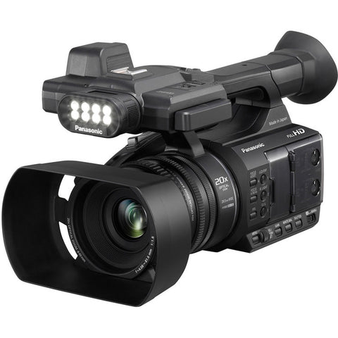Panasonic AG-AC30 Full HD Camcorder with Touch Panel LCD Viewscreen