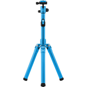 MeFOTO RoadTrip Air Tripod and Selfie Stick in One Kit Blue