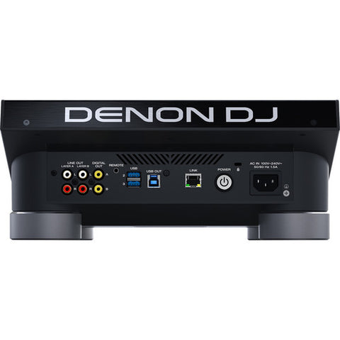 Denon DJ SC5000 Prime - Professional DJ Media Player with 7