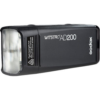Godox AD200 TTL 2.4G HSS 1/8000s Pocket Flash Light Double Head 200Ws with 2900mAh