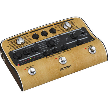 Zoom AC-3 Acoustic Creator - Enhanced Direct Box