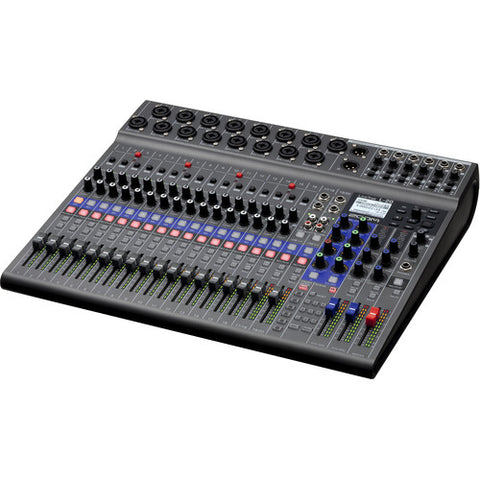 Zoom LiveTrak L-20 20-Input Digital Mixer & Multitrack Recorder