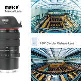 Meike MK-6-11mm 6-11mm for Sony f/3.5 Wide Angle Fish Eye Manual Focus lens for E Mount Mirrorless