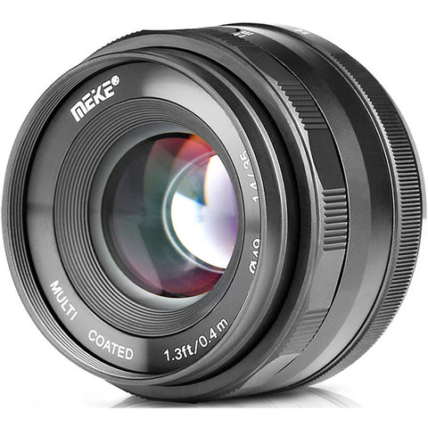 Meike 35MM F/1.4 Large Aperture Manual Focus Lens for Nikon 1 Mount Nikor