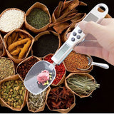 Digital Spoon Scale 300g for Kitchen with LCD with Solar Panel