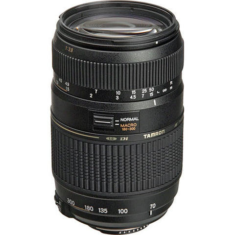 Tamron A17 Zoom Telephoto AF 70-300mm f/4-5.6 Di LD Macro Lens for Nikon